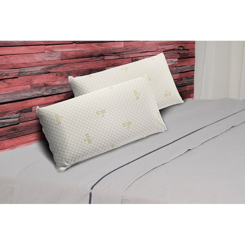 Pack 2 Almohadas Visco Luxury Soja